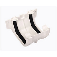 Squareflo Joint Bracket - White - 83 x 135 x 145mm