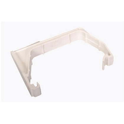 Image for Squareflo Single Fixing Support Bracket - White - 80 x 37 x 135mm from StoreName