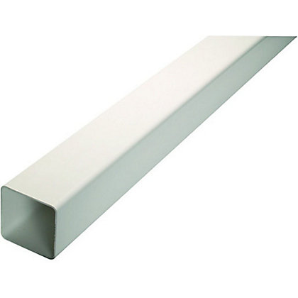 Image for Hunter Squareflow Downpipe - White - 65mm x 2.5m from StoreName
