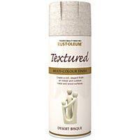 Image for rust oleum textured spray paint desert bisque 400ml from