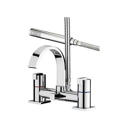 Image for Bristan Chill Bath Shower Mixer Chrome from StoreName