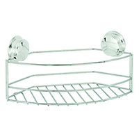 Croydex Stick 'N' Lock Storage Basket - Large