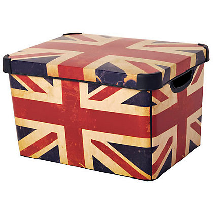 Image for Curver Union Jack Deco Storage Box from StoreName