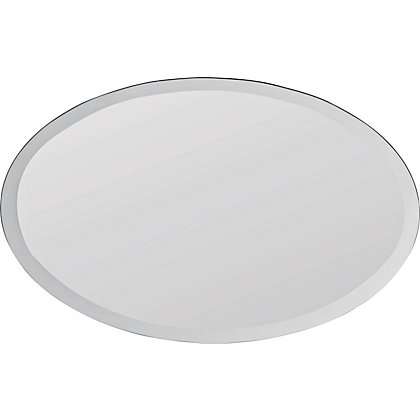 Image for Unframed Oval Bevelled Mirror from StoreName