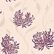 Crown Lola Wallpaper - Plum