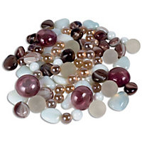 Blush Glass Marbles - 1kg