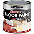 Ronseal Diamond Hard Cream - Floor Paint - 2.5L