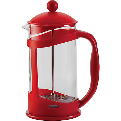 Image for Home of Style Cafetiere - 8 Cup - Red from StoreName