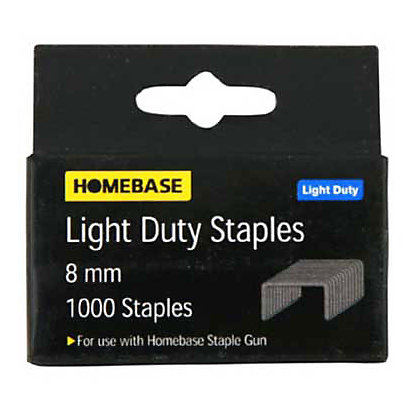 Image for Light Duty Staples - 10mm - 1000 Pack from StoreName