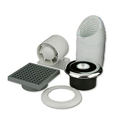 Image for Shower Fan and Light Kit - 100mm from StoreName