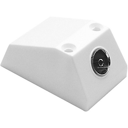 Image for Surface Mounted TV Socket - Single from StoreName