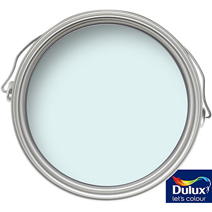 Image for Dulux Light and Space First Frost - Matt Emulsion Paint - 50ml Tester from StoreName