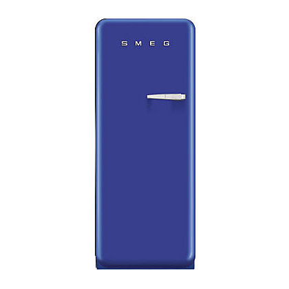 Image for Smeg FAB28YBL1 Left Hand Hinged Fridge with Ice Box - Blue from StoreName