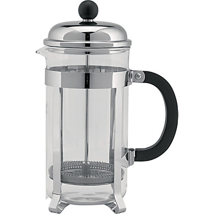 Image for Home of Style Chrome Plated Cafetiere - 8 Cup from StoreName