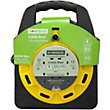Extension Reel - 4 Electrical Sockets - 20 Metres