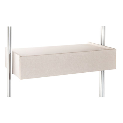 Image for Relax Trouser Rack Kit with Brackets - Linen - 900mm from StoreName