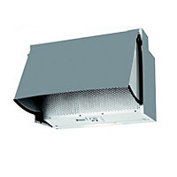 Hotpoint HTN41 60cm Integrated Hood - Silver