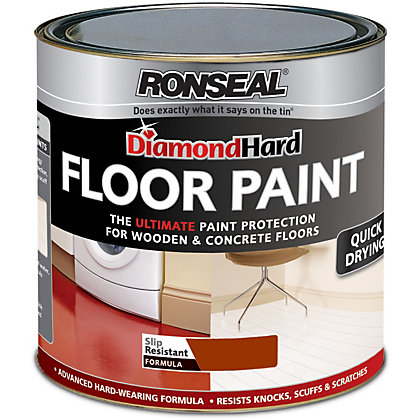 Image for Ronseal Diamond Hard Terracotta - Floor Paint - 2.5L from StoreName