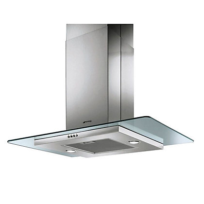 Image for Smeg KEIV90 Island Hood - 90cm - Stainless Steel from StoreName