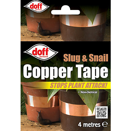 Image for Doff Slug and Snail Copper Tape - 4m from StoreName