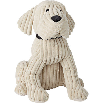 Image for Home of Style Dog Door Stopper - Cream from StoreName