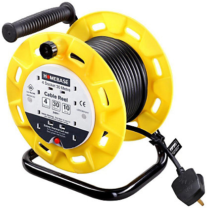 Image for Cable Reel - 4 socket - 30M from StoreName