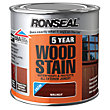 Ronseal 5 Year Woodstain Walnut - 250ml