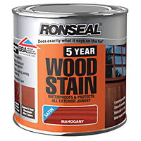 Ronseal 5 Year Woodstain Mahogany - 250ml