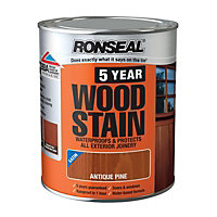 Ronseal 5 Year Woodstain Antique Pine - 750ml