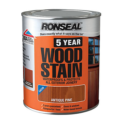 Image for Ronseal 5 Year Woodstain Antique Pine - 750ml from StoreName