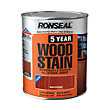 Ronseal 5 Year Woodstain Deep Mahogany - 750ml