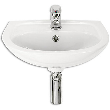Image for St Tropez Wall Hung Basin - White from StoreName