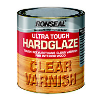 Ronseal Hard Glaze Interior Varnish Clear - 250ml