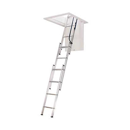 Image for Abru 3 Section Easy Stow Loft Ladder from StoreName