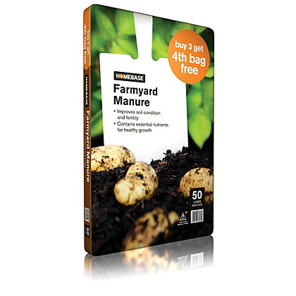 Image for Homebase Farmyard Manure - 50L from StoreName
