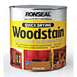 Ronseal Quick Drying Woodstain Satin Antique Pine - 2.5L