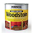 Ronseal Quick Drying Woodstain Satin Dark Oak - 2.5L