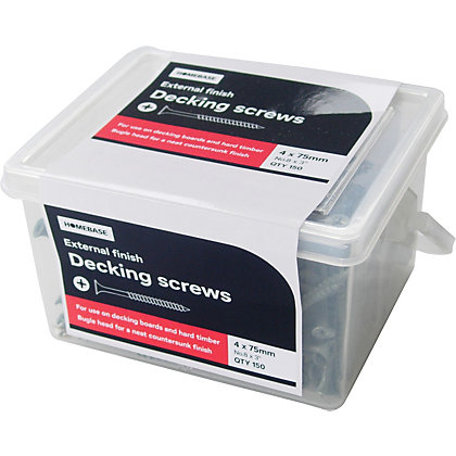 Image for Deck Screw - 4 x 75mm - 150 Pack from StoreName