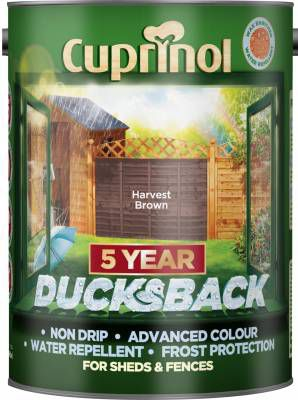 Cuprinol Ducksback Timbercare - Harvest Brown - 5L