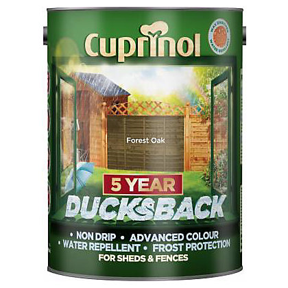 Image for Cuprinol Ducksback Timbercare - Forest Oak - 5L from StoreName