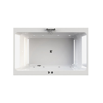 Image for Olney Luxury Double Bath - Silver Whirlpool from StoreName
