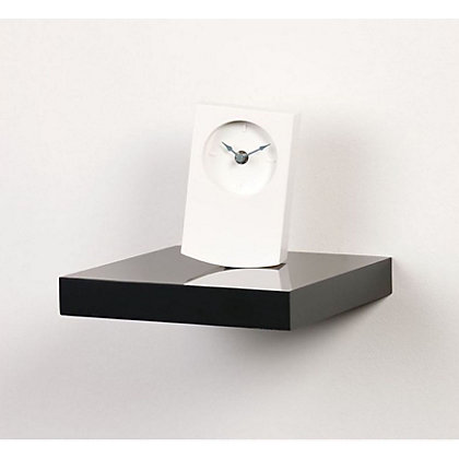 Image for Duraline Black High Gloss Floating Display Shelf from StoreName