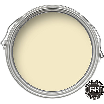 Image for Farrow & Ball Estate No.2012 House White - Eggshell Paint - 2.5L from StoreName