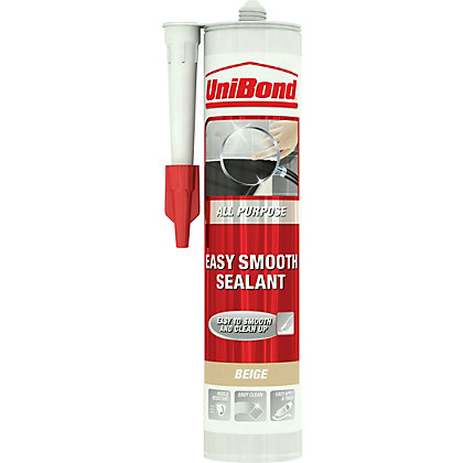 Image for UniBond All Purpose Easy Smooth Sealant - Beige - 300ml from StoreName