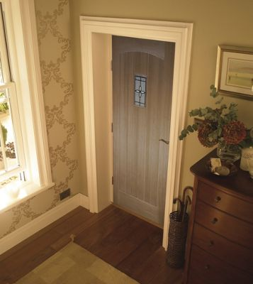Image of Croft White Oak External Door - 838mm Wide