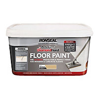 Ronseal Pebble Stone - Perfect Finish Diamond Hard Floor Paint - 2.5L