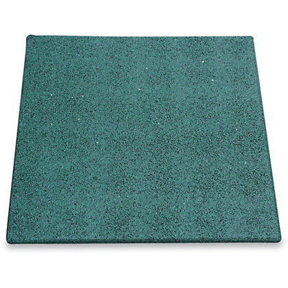 Image for Granuflex Rubber Tile - Green - 500 x 500mm from StoreName