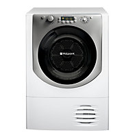 Hotpoint AQC9BF7I Condenser Tumble Dryer - Ice