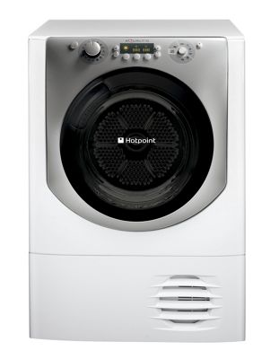 Image of Hotpoint AQC9BF7I Condenser Tumble Dryer - Ice