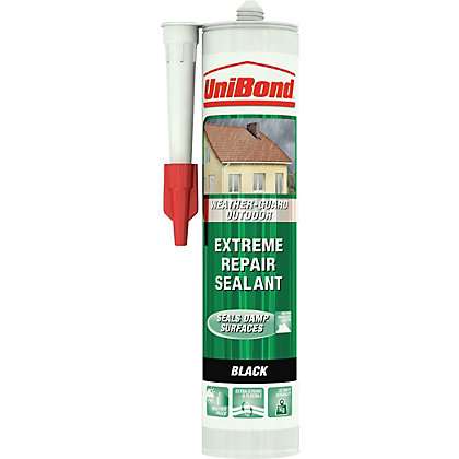 Image for UniBond Outdoor Extreme Repair Sealant - Black - 300ml from StoreName